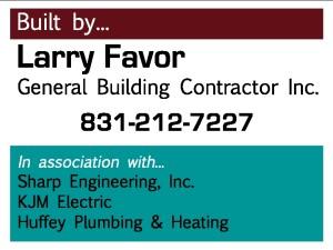 Larry Favor site sign