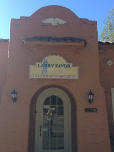 Larry Favor Building Contractor Sign