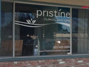 window lettering-pristine