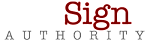 Sign Authority Logo