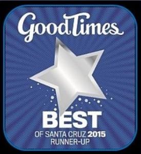 Best of Santa Cruz 2015 Runner Up sm